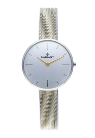 RELOJ RADIANT CELINE 32MM SILVER DIAL 2TONE IPG SS MES RA522602