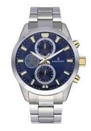 RELOJ RADIANT GUARDIAN ALL SS 44MM BLUE DIAL SILVER BA RA479707