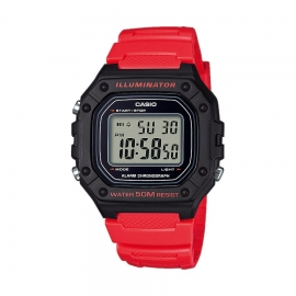 RELOJ CASIO COLLECTION W-218H-4BVEF