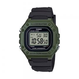 RELOJ CASIO COLLECTION W-218H-3AVCF