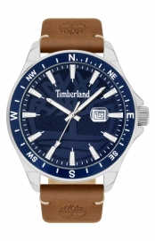 RELOJ TIMBERLAND SWAMPSCOTT 46MM NAVY 3H DATE TAN LEATHER 15941JYTBL-03