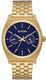 RELOJ NIXON TIME TELLER DELUXE ALL GOLD / NAVY SUNRA A9222347