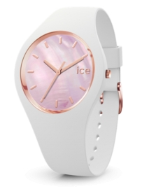 RELOJ ICE WATCH PEARL - WHITE PINK - MEDIUM - 3H IC017126