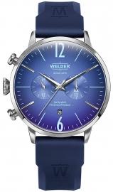 RELOJ WELDER 45MM DUAL TIME BLUE SILICONE STRAP BLUE WWRC514