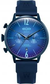 RELOJ WELDER 45MM DUAL TIME BLUE SILICONE STRAP BLUE WWRC513
