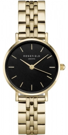 RELOJ ROSEFIELD THE SMALL EDIT BLACK STEEL GOLD  26BSG-268