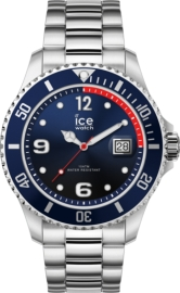 RELOJ ICE WATCH STEEL - MARINE SILVER - EXTRA LARGE - 3H IC017324