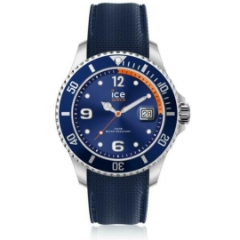 RELOJ ICE WATCH STEEL - NAVY ORANGE - EXTRA LARGE - 3H IC017325