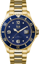RELOJ ICE WATCH STEEL - GOLD BLUE - EXTRA LARGE - 3H IC017326
