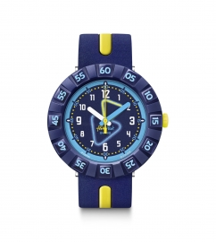 RELOJ FLIK FLAK YELLOW TUBE FCSP091