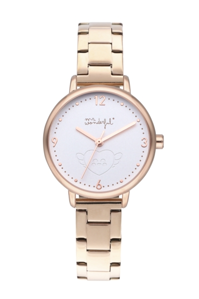 MR WONDERFUL WATCH SHINE AND SMILE / IPRG&WHITE / BR WR15000