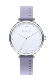 RELOJ MR WONDERFUL WATCH TIME FOR FUN / SILVER&PURPLE WR40300