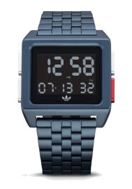 RELOJ ADIDAS ARCHIVE_M1 NAVY / BLACK / SILVER / RED Z013041-00