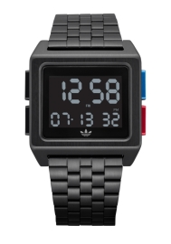 RELOJ ADIDAS ARCHIVE_M1 ALL BLACK / BLUE / RED Z013042-00