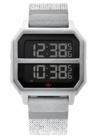 RELOJ ADIDAS ARCHIVE_R2 GRAY / ORANGE Z163199-00