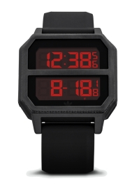 RELOJ ADIDAS ARCHIVE_R2 ALL BLACK / RED Z16760-00