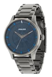 RELOJ POLICE JET 3H BLUE DIAL BR GUN R1453282003