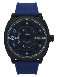 RELOJ POLICE SPEED HEAD 3H BLUE DIAL BLUE STRAP R1451290003
