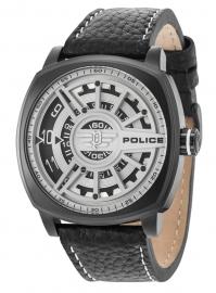 RELOJ POLICE SPEED HEAD 3H WHITE DIAL BLACK STRAP R1451290002
