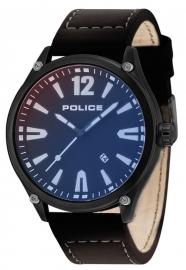 RELOJ POLICE DENTON 3H BLACK DIAL BLACK STRAP R1451287003