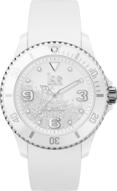 RELOJ ICE WATCH CRYSTAL - WHITE SILVER - SMOOTH - MEDIUM IC017246