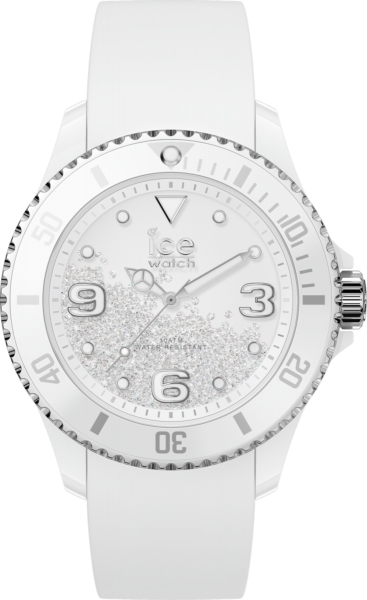 ICE WATCH CRYSTAL - WHITE SILVER - SMOOTH - MEDIUM IC017246