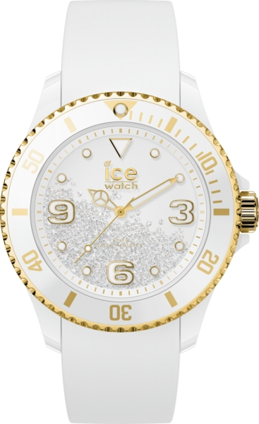 ICE WATCH CRYSTAL - WHITE GOLD - SMOOTH - MEDIUM IC017247