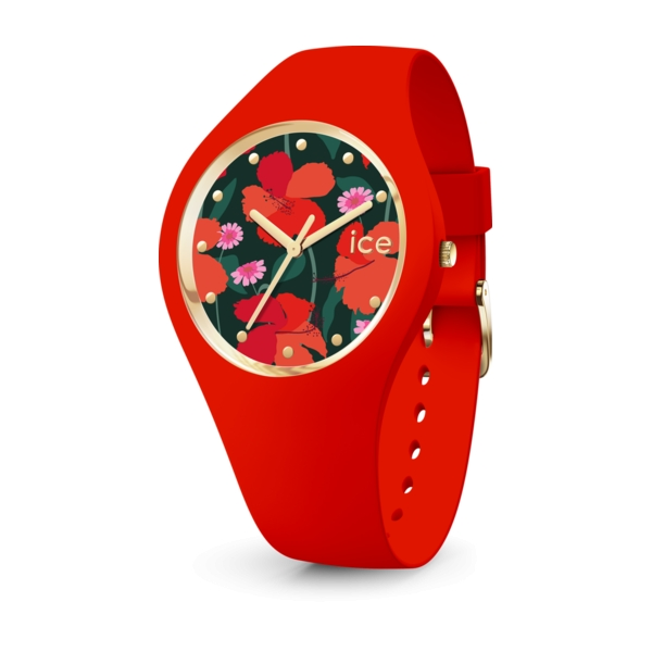 ICE WATCH FLOWER - FLORAL PASSION - MEDIUM - 3H IC017577