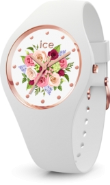 RELOJ ICE WATCH FLOWER - WHITE BOUQUET - SMALL - 3H IC017575