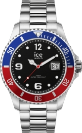 RELOJ ICE WATCH STEEL - UNITED SILVER - EXTRA LARGE - 3H IC017330