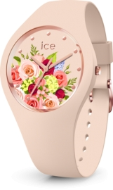 RELOJ ICE WATCH FLOWER - PINK BOUQUET - MEDIUM - 3H IC017583