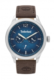 RELOJ TIMBERLAND SAUGUS 46MM BLUE DIAL BROWN LEATHER STRA TBL.15940JS-03