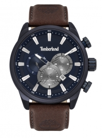 RELOJ TIMBERLAND MILLWAY 46MM BLUE DIAL BROWN LEATHER S TBL.16002JLABL-03