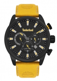 RELOJ TIMBERLAND MILLWAY 46MM BLACK DIAL ORANGE LEATHER S TBL.16002JLAB-02