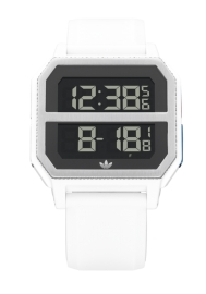 RELOJ ADIDAS ARCHIVE_R2 ALL WHITE / BLUE / RED Z163273-00