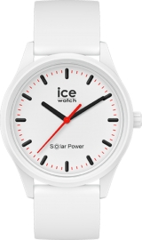 RELOJ ICE WATCH SOLAR POWER - POLAR - MEDIUM - 3H IC017761
