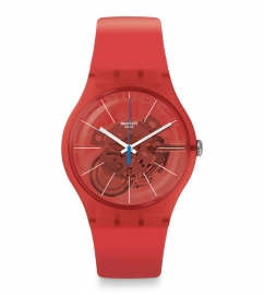 RELOJ SWATCH BLOODY ORANGE SUOO105
