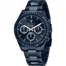 RELOJ MASERATI BLUE EDITION 43MM MULTIFUNCION R8853100025
