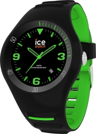 RELOJ ICE WATCH P. LECLERCQ - BLACK GREEN - MEDIUM - 3H IC017599