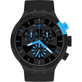 RELOJ SWATCH CHECKPOINT BLUE SB02B401