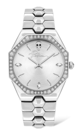 RELOJ POLICE MONTARIA WOMAN SILVER DIAL SS BAND PL.16038BS-04M