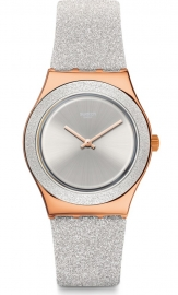 RELOJ SWATCH GREY SPARKLE YLG145