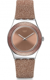 RELOJ SWATCH ROSE SPARKLE YLS220
