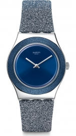 RELOJ SWATCH BLUE SPARKLE YLS221