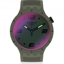 RELOJ SWATCH FUTURISTIC GREEN SO27M105