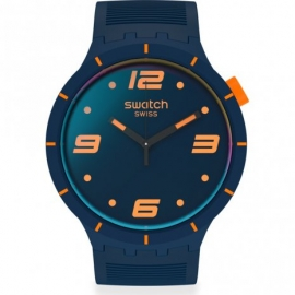 RELOJ SWATCH FUTURISTIC BLUE SO27N110