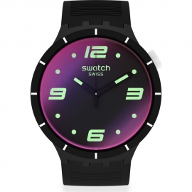 RELOJ SWATCH FUTURISTIC BLACK SO27B119