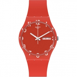 RELOJ SWATCH OVER RED GR713