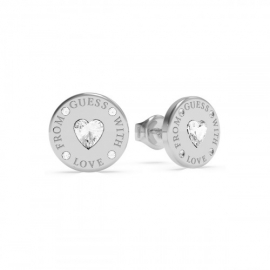 RELOJ GUESS 10MM COIN STUDS RH UBE70036