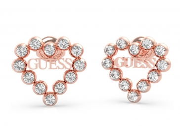 RELOJ GUESS CRYSTALS HEART STUDS RG UBE70172